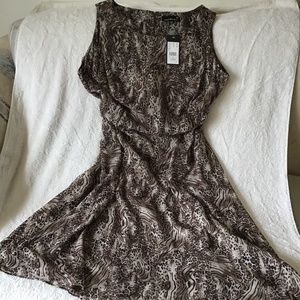 NWT - Animal print dress